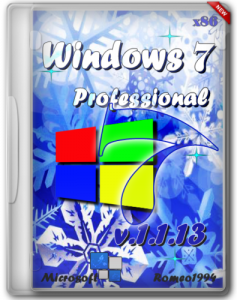 Windows 7 (x86) Professional by Romeo1994 v.1.1.13 (2013) Русский