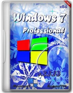 Windows 7 (x64) Professional by Romeo1994 v.2.1.13 (2013) Русский