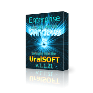 Windows 8 (x86/x64) Enterprise UralSOFT v.1.1.21 (2013) Русский