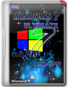 Windows 7 (x64) Ultimate by Romeo1994 v.4.1.13 (2013) Русский