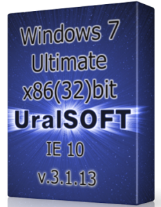 Windows 7 x86 Ultimate UralSOFT v.3.1.13 (2013) Русский