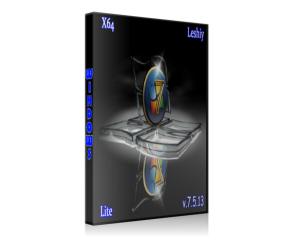 Windows 7 Lite x64 Leshiy v.7.5.13 (2013) Русский