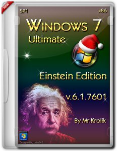 Windows 7 sp1 х86 Einstein Edition 6.1.7601 by Mr.Krolik (2013) Русский