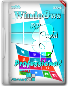 Windows 8 x86-x64 RP Mod Professional by Bukmop (2013) Русский