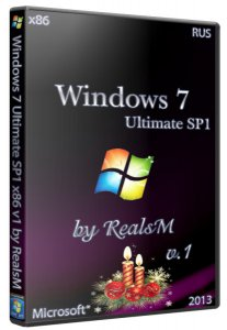 Windows 7 Ultimate SP 1 (x86) v1 by RealsM (2013) �������