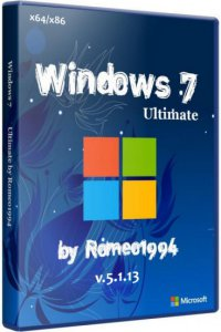 Windows 7 (x64 / x86) Ultimate by Romeo1994 v.5.1.13 (2013) Русский