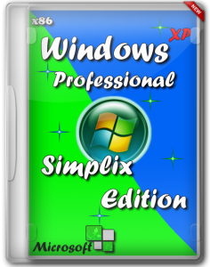 Windows XP Pro SP3 VLK Rus simplix edition (x86) 15.01.2013 (2013) Русский