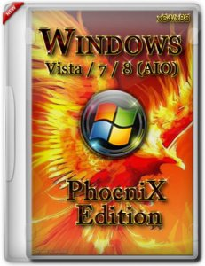 Microsoft Windows Vista / 7 / 8 (All-In-One) (PhoeniX Edition) (32bit+64bit) (2013) Русский