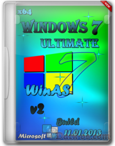 Windows 7 Ultimate SP1 x64 WinAS Soft v.11.01.2013 (2013) Русский