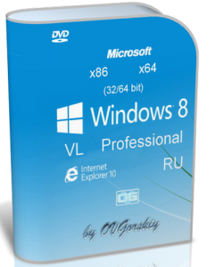Microsoft� Windows� 8 x86-x64 Professional VL Ru by OVGorskiy� 01.2013 2DVD (2013) �������