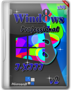Windows 8 Professional x86 I-XIII v2 by lopatkin (2013) Русский