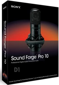 Sony Sound Forge Pro 10.0e Build 507 (2013) | RePack by MKN