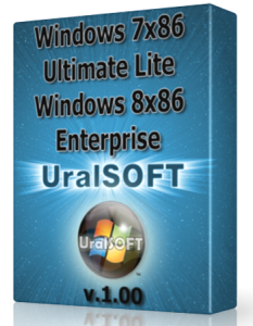Windows 7 x86 Ultimate Lite & Windows 8 x86 Enterprise UralSOFT v.1.00 (2013) Русский