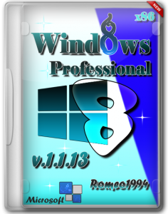 Windows 8 x86 Professional v.1.1.13 by Romeo1994 (2013) Русский