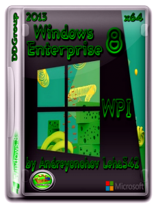 Windows 8 Enterprise x64 DDGroup & WPI by Andreyonohov Leha 342 (2013) Русский