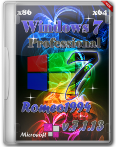Windows 7 (x64 / x86) Professional by Romeo1994 v.7.1.13 (2013) Русский
