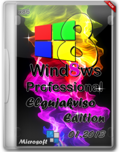 Windows 8 Pro VL x86 Elgujakviso Edition 01.2013 (2013) Русский