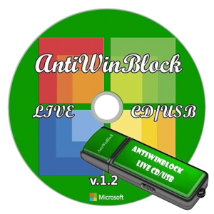 AntiWinBlock 1.2 LIVE CD/USB (2013) Русский