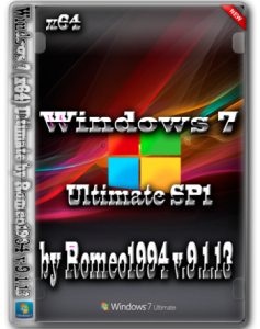 Windows 7 (x64) Ultimate by Romeo1994 v.9.1.13 (2013) Русский