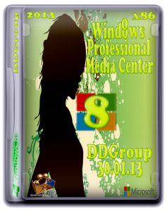 Windows 8 Pro with Media Center x86 by DDGroup [v.3] (2013) �������