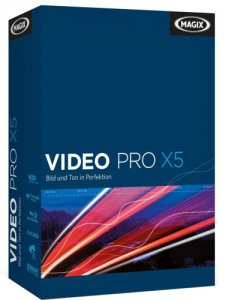 MAGIX Video Pro X5 v12.0.10.28 Final (2013) Английский