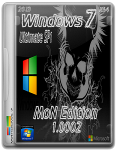 Windows 7 SP1 Ultimate x64 MoN Edition 1.0002 (2013) Русский