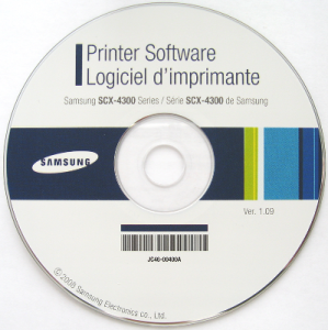 Samsung SCX-4300 Printer Software 1.09 x86 x64 (2008) Русский