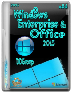 Windows 8 Enterprise & Office 2013 DDGroup -v.2 [x86] [2013] �������