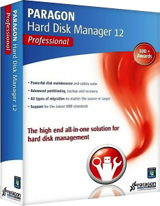 Paragon Hard Disk Manager 12 Professional v10.1.19.16240 Final / Boot Media Builder / WinPE ISO (2013) ������� + ����������