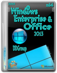 Windows 8 Enterprise&Office 2013 DDGroup v.2 (x64) (2013) Русский