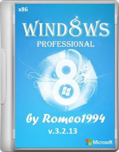 Windows 8 (x86) Professional v.3.2.13 by Romeo1994 (2013) Русский