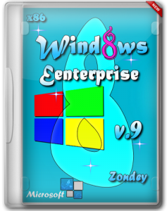 Windows 8 Eenterprise by Zondey v.9 (x86) [2013] Русский