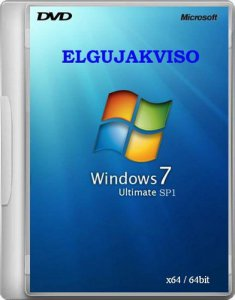 Windows 7 Ultimate SP1 Elgujakviso Edition -v2 [x64] [2013] Русский