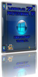Windows 7 Professional SP1 x86 DDGroup [v.3] (2013) Русский