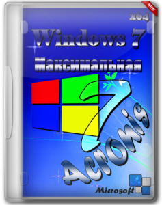 Acronis Windows 7 Максимальная 6.1.1 (x64) [2013] Русский