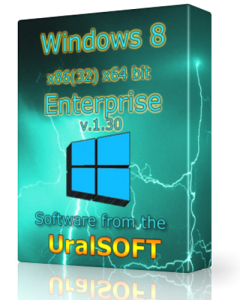 Windows 8 (x86/x64) Enterprise UralSOFT v.1.30 (2013) Русский