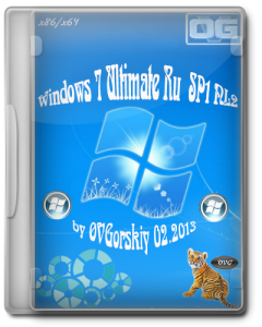 Windows 7 Ultimate SP1 NL2 by OVGorskiy� (02.2013) (x86+x64) [2013] �������