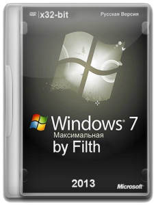 Windows 7 Максимальная x86 Updated 19.02.2013 by Filth v 1.0 Beta (2013) Русский