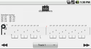 Guitar Tab Player (Guitar Pro)[Android 2.1+, RUS + ENG]