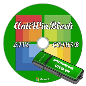 AntiWinBlock 1.8 LIVE CD/USB (2013) Русский