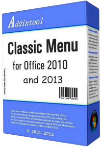 Classic Menu for Office Enterprise 2010 and 2013 v5.85 Final (2013) Русский присутствует