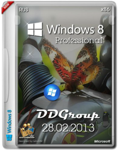Windows 8 Professional x86 DDGroup [v.3]28.02.13 (Русский)