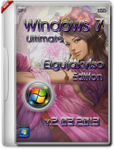 Windows 7 Ultimate SP1 x86 Elgujakviso Edition v2 (03.2013) Русский