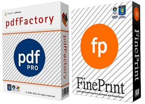 FinePrint / Server EDITION 7.20 Final + PdfFactory Pro / Server EDITION 4.80 Final (2013)