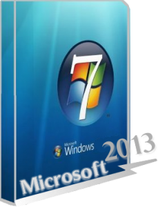 Windows 7 Professional sp1 XLGame (x86) by Vlazok [2013] Русский