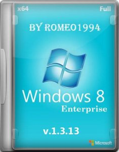 Windows 8 (x64) Enterprise v.1.3.13 Full Update by Romeo1994 (2013) Русский