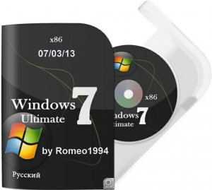 Windows 7 x86 Ultimate v.1.3.13 by Romeo1994 (2013) Русский