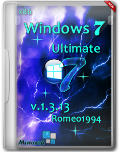 Windows 7 x64 Ultimate v.2.3.13 by Romeo1994 (2013) Русский
