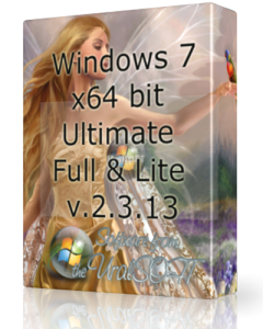 Windows 7 x64 Ultimate UralSOFT Full & Lite v.2.3.13 (2013) Русский