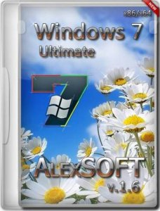 Windows 7 Ultimate SP1 by AlexSOFT (v.1.6) (x86+x64) [2013] Русский
